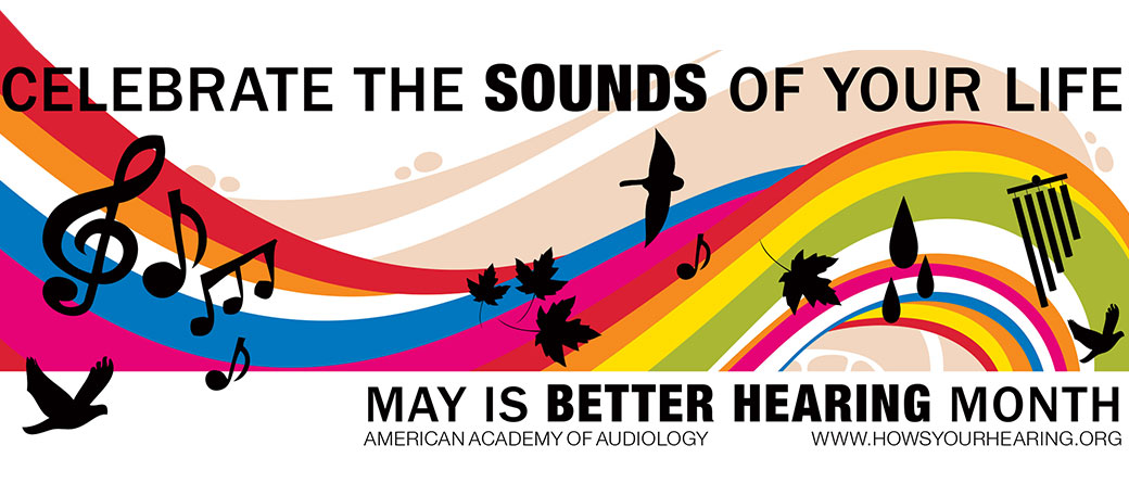 Better Hearing Month Banner - The ENT Center, AMC